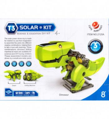 Ηλιακά ρομπότ 3 σε 1
