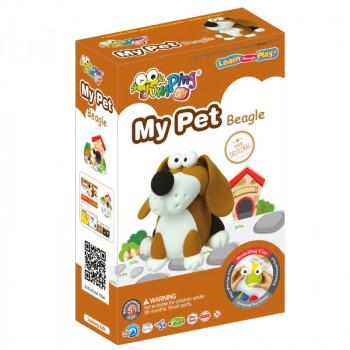 JUMPING CLAY My pet -beagle