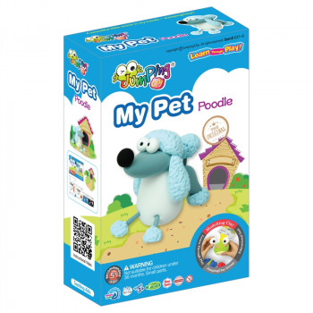 JUMPING CLAY MY PET - Poodle